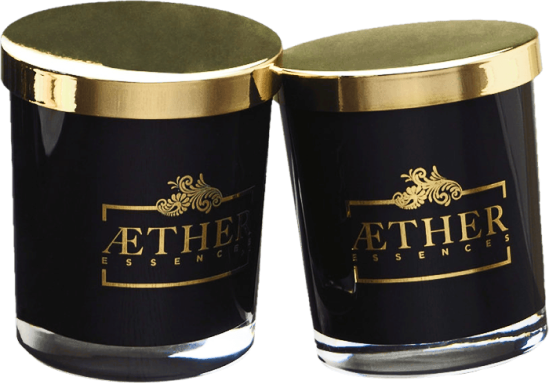 Aether Essences Nyx Twin Soy Wax Candle Pack